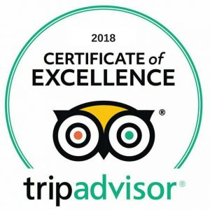 2018 CERTIFICATE OF EXCELLENCE TA